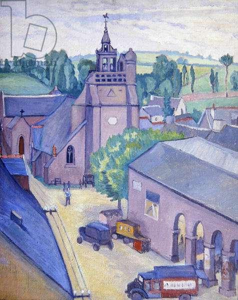 Church of St. Nicolas, c.1933 (oil on canvas)