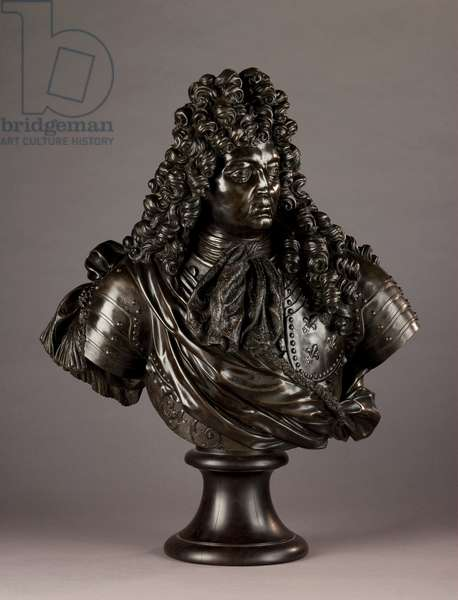 Louis XIV, King of France, 1690s (bronze)