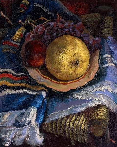 Still Life, 1936 (oil on canvas mounted on cardboard)