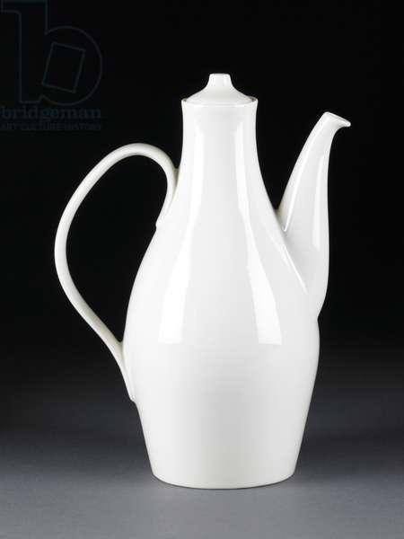 Museum Coffee Pot, c.1942–43 (glazed porcelain)