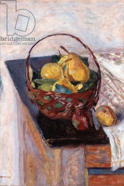 The Basket of Fruit, 1922 (oil on canvas)
