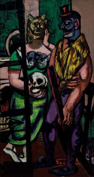 Masquerade, 1948 (oil on canvas)