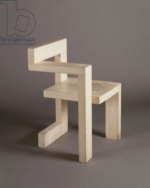 Steltman Chair, 1963 (limed oak)