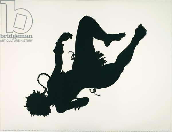 African/American, 1998 (linocut)