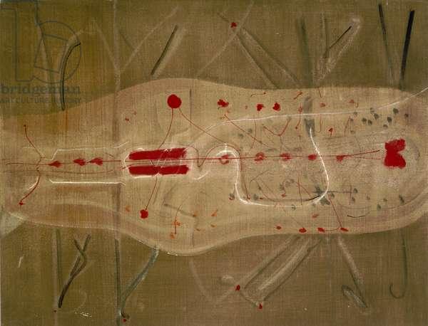 Untitled, c.1944 (w/c & graphite on paper)