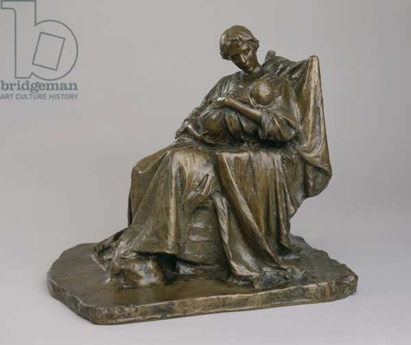 The Young Mother, 1896 (bronze)