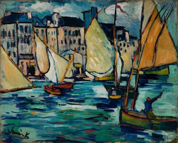 Le Havre: Le Grand Quai, 1906 (oil on canvas)