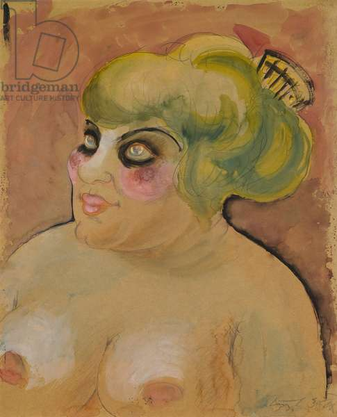 Madame Leonie, 1923 (watercolor)