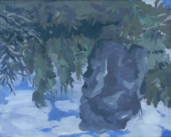 Landscape with Pathos, 1970 (oil on canvas)