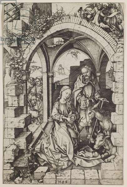 The Nativity, c.1471-73 (engraving)