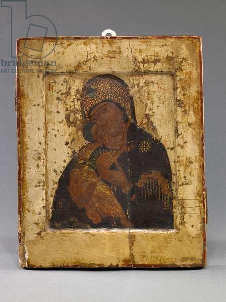 Volokolamskaya Mother of God (tempera on panel)
