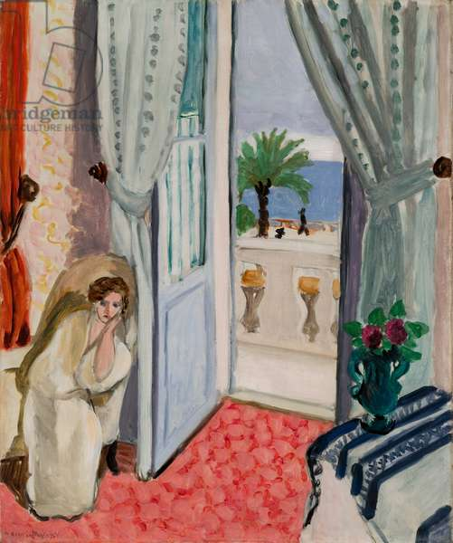 Interior at Nice, c.1919 (oil on canvas)