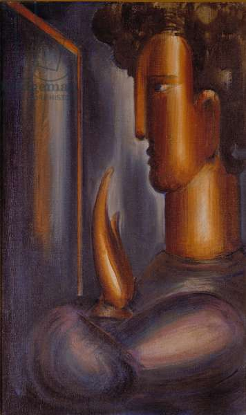 Before the Mirror, 1931 (oil on canvas)