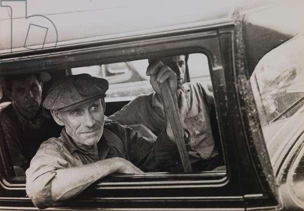 Untitled (Men in Truck), c.1936 (gelatin silver print)