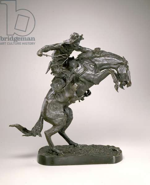 The Bronco Buster, 1895, cast 1907 (bronze)