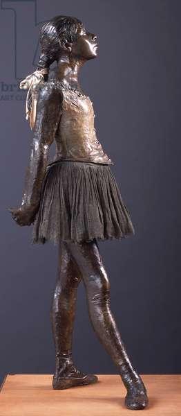 Little Dancer of Fourteen Years, c.1880 (bronze, gauze & satin)
