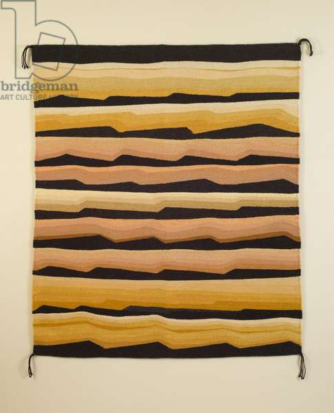 The Edge, 2013 (wool with natural dye)