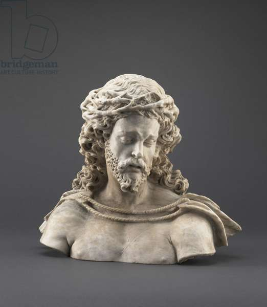 Head of Christ, 1500-50 (alabaster)