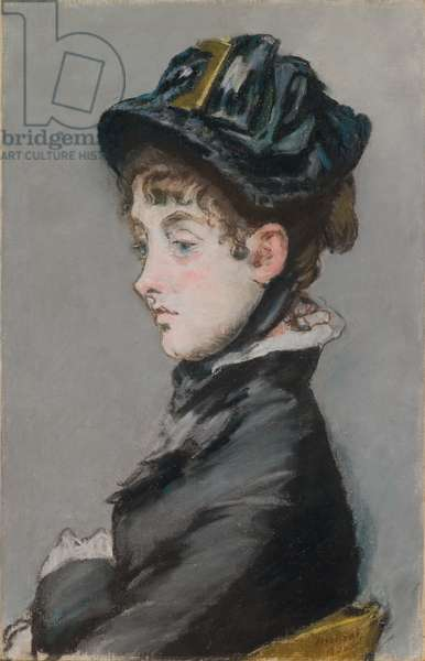 Madame Guillemet, 1880 (pastel on canvas mounted on masonite)