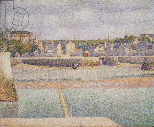 Port-en-Bessin: The Outer Harbor (Low Tide), 1888 (oil on canvas)