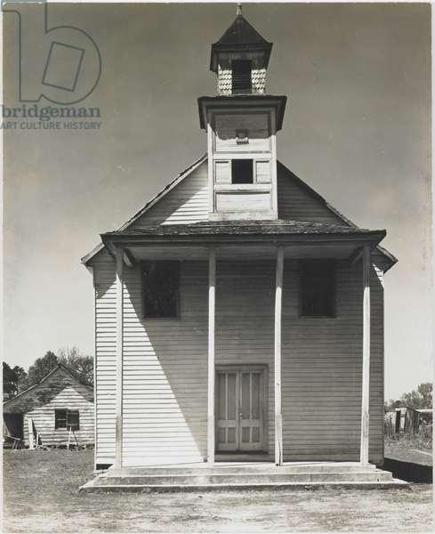 Negro Church, South Carolina, 1936 (gelatin silver print)
