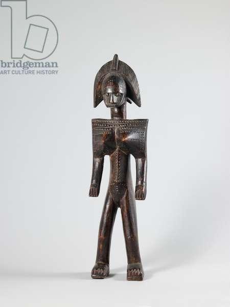 Female figure (nyeleniw), 20th century (wood)