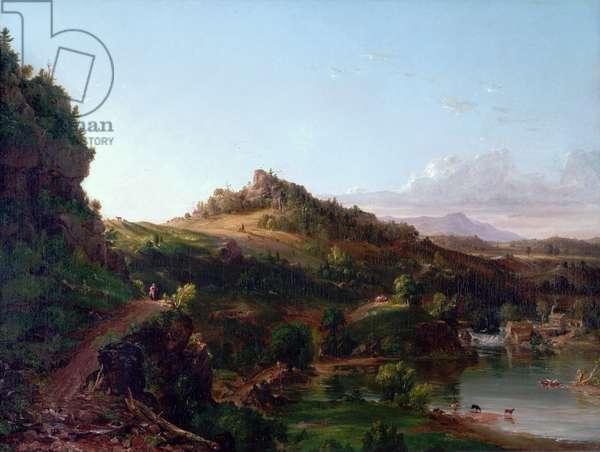 Catskill Scenery, c.1833 (oil on canvas)