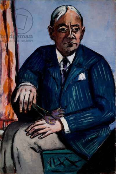 Portrait of Ludwig Berger, 1945 (oil on canvas)