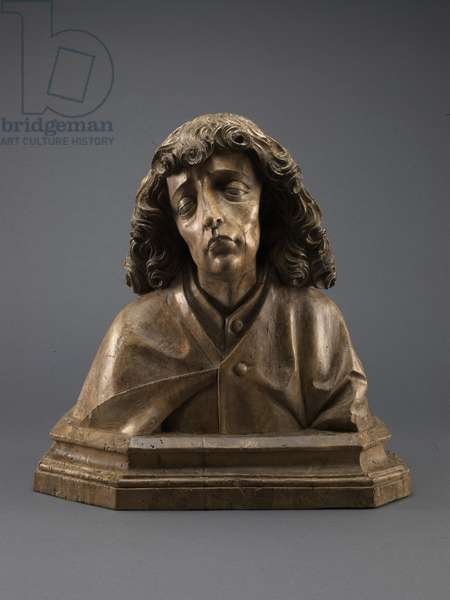 St. John the Evangelist, c.1500 (wood with traces of pigment)