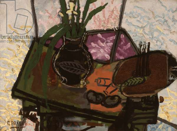 Still Life with Palette, 1943 (oil on canvas)
