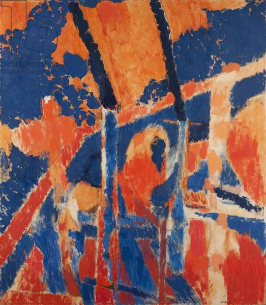 Duo, c.1966 (oil on canvas)