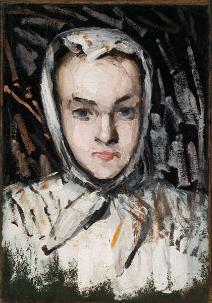 Marie Cézanne, the Artist's Sister, 1866-67 (oil on canvas)