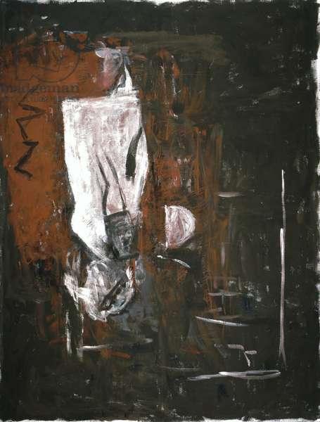 White Woman, 1980 (tempera on canvas)