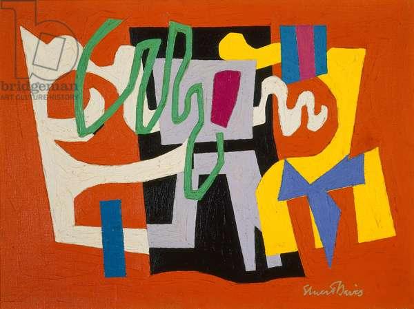 Feasible #2, 1949-51 (oil on canvas)