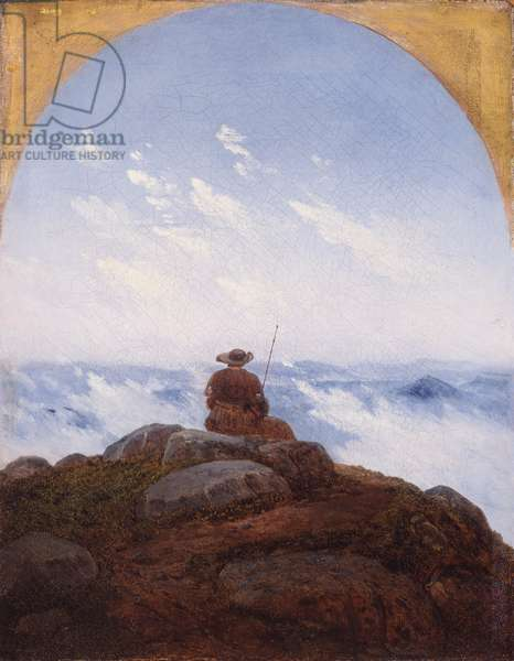 Wanderer on the Mountaintop, 1818 (oil on canvas)