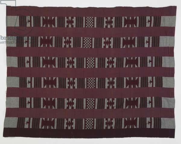 Wrapper, 1970s (cotton & rayon)
