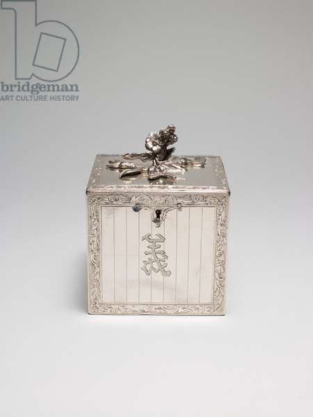 Tea Canister, 1769-70 (silver)