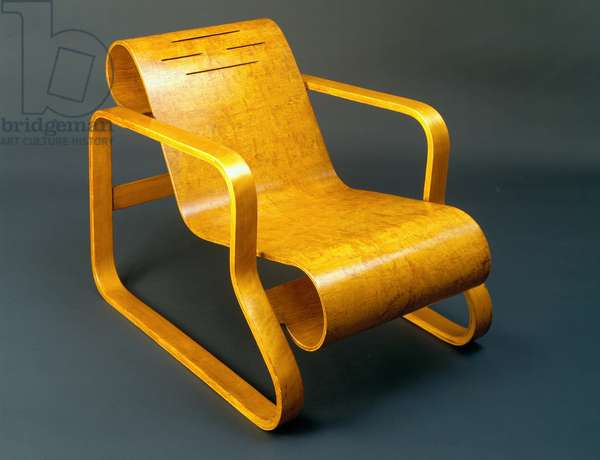 Lounge Chair, 1931-32 (birch & plywood)