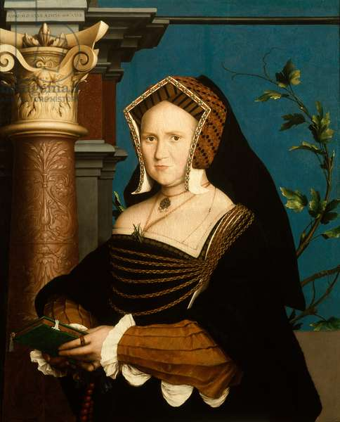 Mary, Lady Guildford, 1527 (oil on panel)