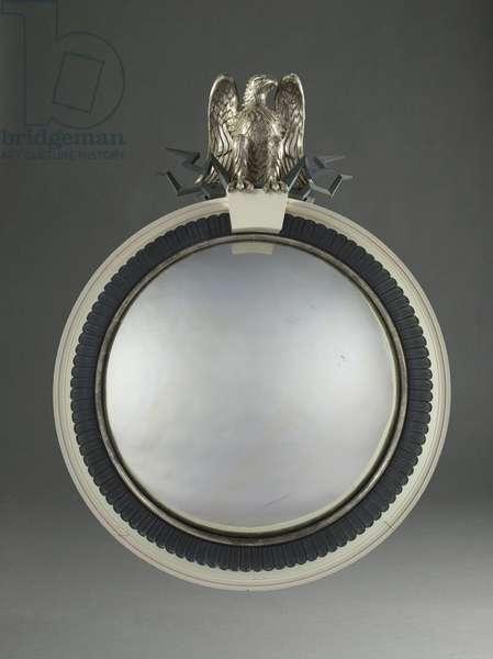 Bull's Eye Mirror, 1941 (painted & silvered wood, metal, & mirrored glass)