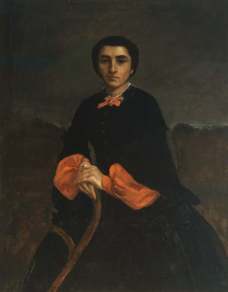 Portrait of a Woman: Juliette Courbet, 1860 (oil on canvas)