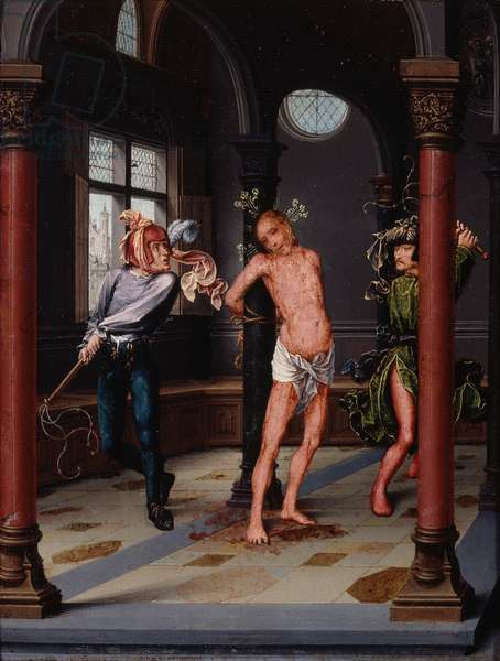 Flagellation, c.1510-15 (oil on panel)