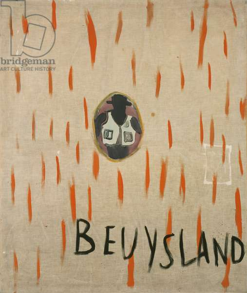Beuysland, 1965 (oil on canvas)