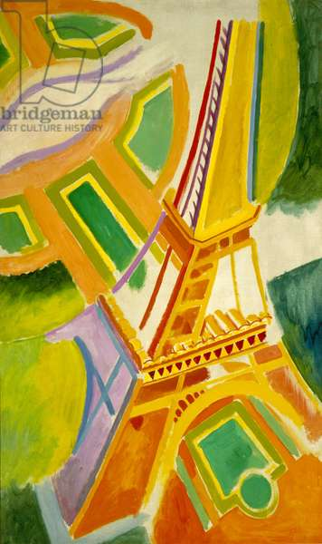 Eiffel Tower, 1924 (oil on canvas)