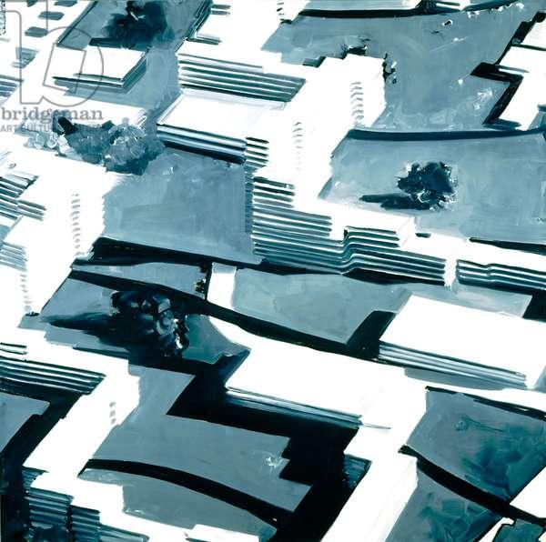 Townscape Sa 2, 1969 (oil on canvas)
