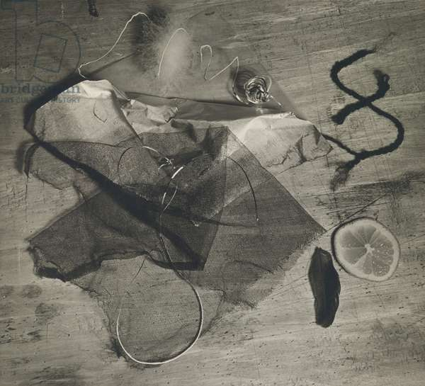 Homage to Rimbaud or Ophelia, 1929 (gelatin silver print)