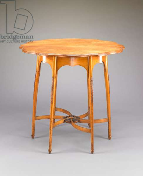 Occasional Table, manufactured my Morris & Co., c.1890 (walnut)