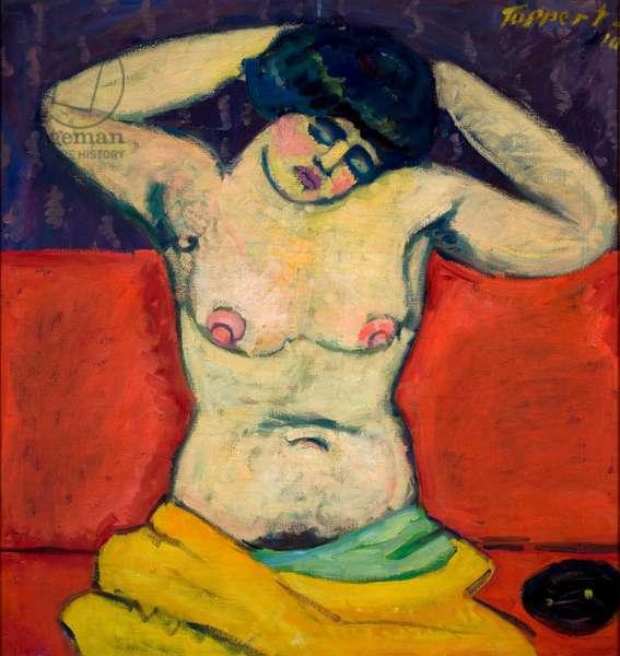 Seated Nude, 1910 (oil on canvas)