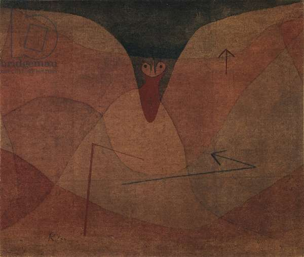 Aviatic Evolution, 1934 (oil on canvas mounted on masonite)