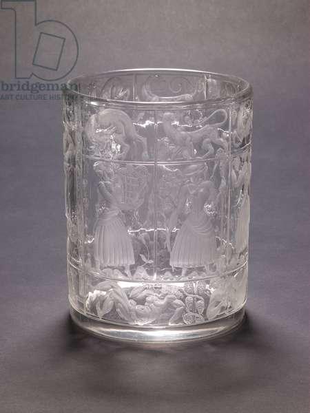 Vase, Bacchus, 1921-22 (glass)